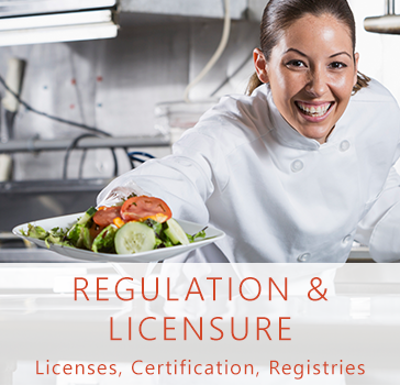 regulation and licensure