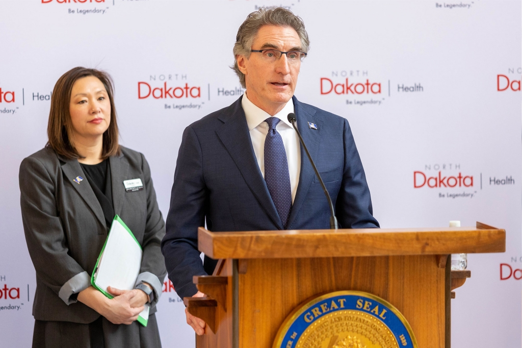 Governor Burgum Press Conference Briefings